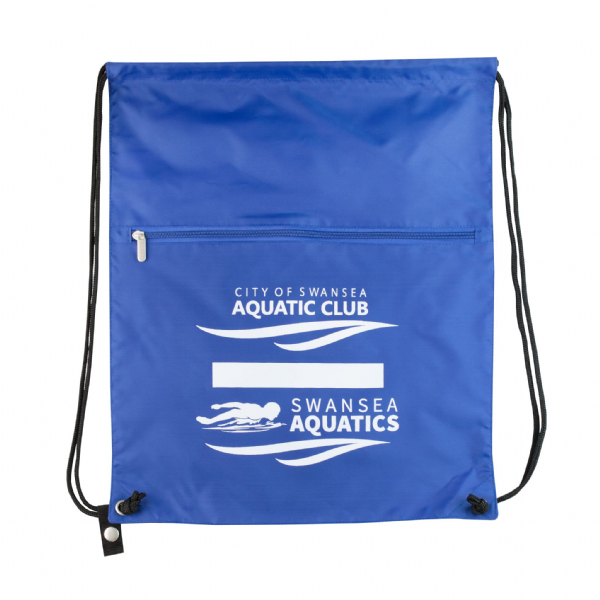 Swansea Aquatics Drawstring Bag